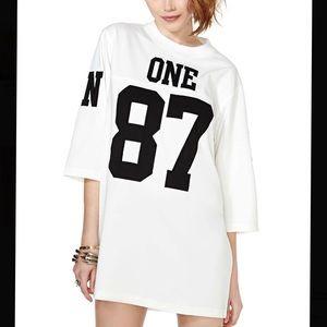 UNIF T-Shirt Dress Styled Jersey